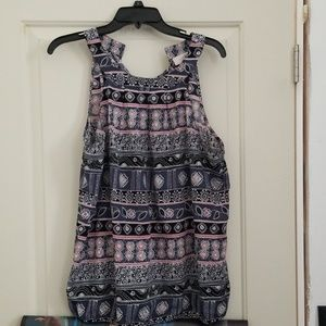 Patterned Dress Shirt